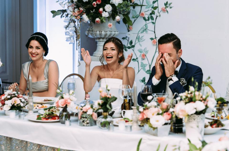 Un magicien pour votre repas de mariage